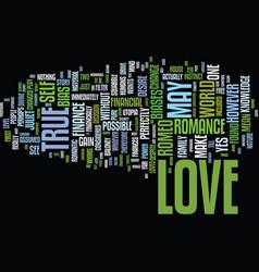 Economics true love text background word vector