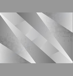gray and white geometric abstract background with vector image