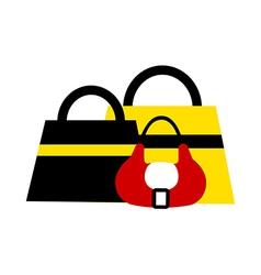 Hand Bags vector