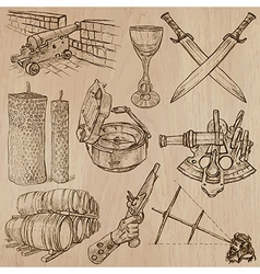 Objects - An hand drawn Converted vector