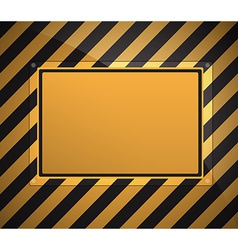 Warning sign background vector