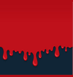 background with drips of blood vector image vector image