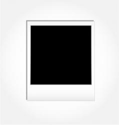 vintage photo frame vector image