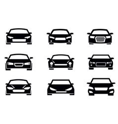 auto icons vector image
