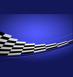blue racing background vector image vector image