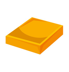 Butter bar icon vector