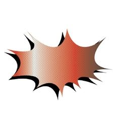 Comic Burst vector image
