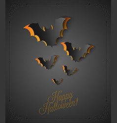 holiday halloween vector image