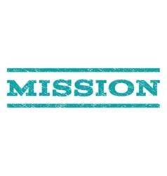 Mission Watermark Stamp vector
