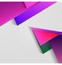 Polygonal Material Design vector