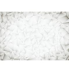 Polygonal White Bright Light Triangles Techno vector