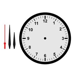 clock part vector image vector image