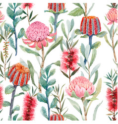 Beautiful seamless floral pattern with vector