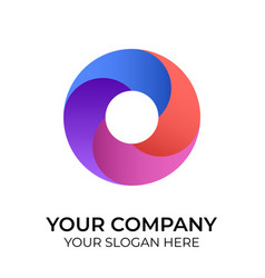 business logo with minimalist concept template vector image