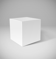 Cube vector image