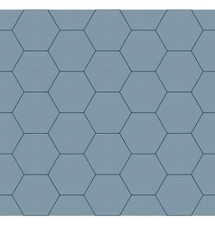 geometric hexagon seamless pattern vector image
