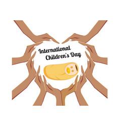 International children s day concept vector