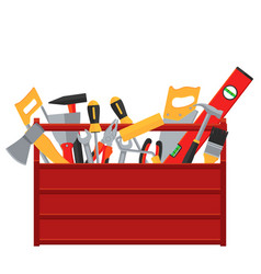 repair and construction tools concept vector image