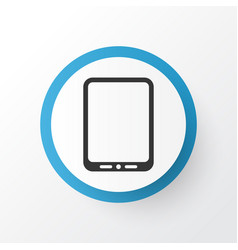 Tablet phone icon symbol premium quality isolated vector