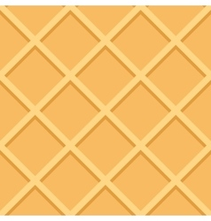 Waffle Seamless Pattern Background vector image