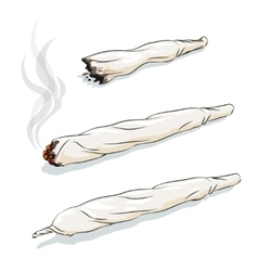 Joint or spliff vector