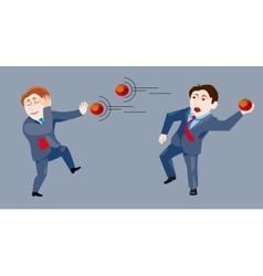 Rotten tomato failure vector image