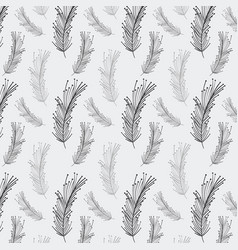 rustic feathers background icon vector image