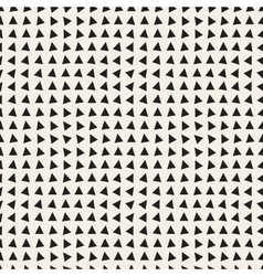 Seamless Black and White Triangle Pattern vector image vector image