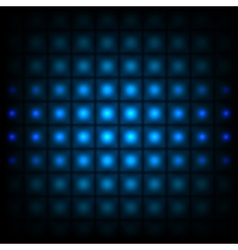 Background with lights vector image vector image
