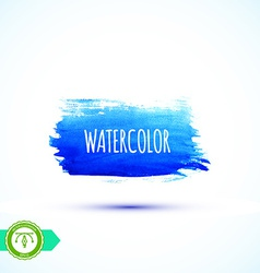 Watercolor Paintbrush Mark Banner vector image vector image