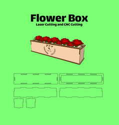Box-flower vector
