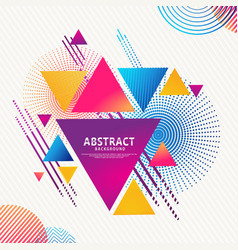 Dynamic and futuristic abstract minimalist vector