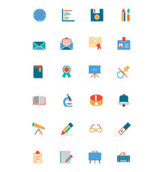 Education Colored Icons 11 vector