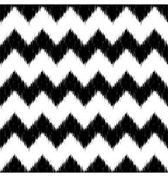 Ikat Chevron Seamless Pattern vector