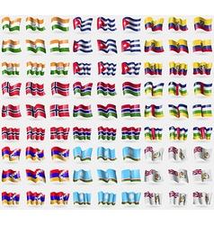 India Cuba Ecuador Norway Gambia Central African vector
