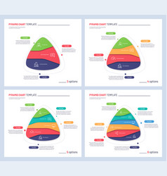infographic templates in shape of vector image