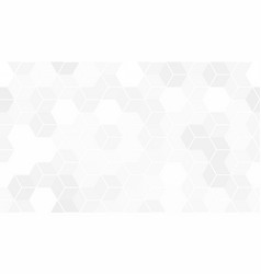 pattern of hexagon cells vector image