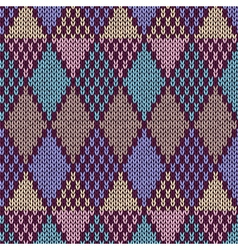 Samples of knitted Fabrics vector