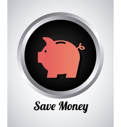 save money vector image