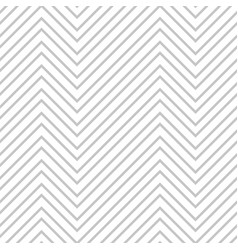 simple seamless zigzag pattern white and gray vector image