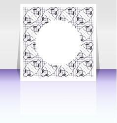 editable presentation of flyer Poster vector image