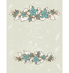 picture frames hanging on the wall vector image