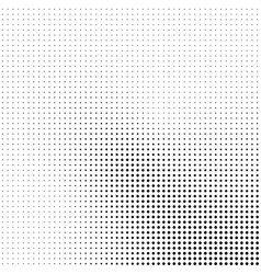 abstract halftone background in black and white vector image