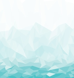background abstract polygon blue design vector image