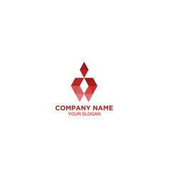 digital employee logo design vector image