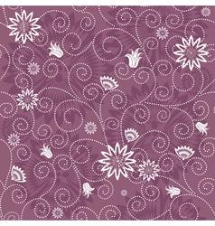 gentle violet seamless pattern vector image