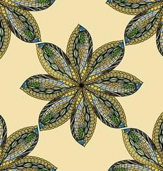 Hand Drawn Floral Design vector