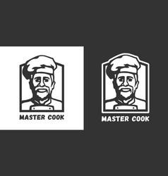 Master cook logo vector