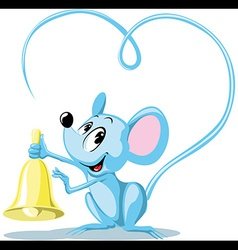 ringing mouse vector image