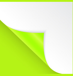shape of bent angle is free for filling green vector image